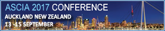 ASCIA 2017 Conference in Auckland, New Zealand from 13-15 September 2017