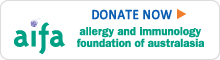 Donate Now to Allergy and Immunology Foundation of Australasia (AIFA)