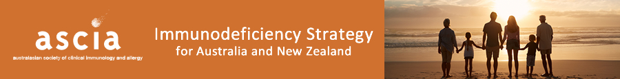 ASCIA Immunodeficiency Strategy for Australia and New Zealand
