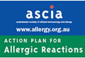 ASCIA Action Plan for Allergic Reactions (personal)