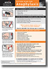 ASCIA Action Plan for Anaphylaxis (general) for use with Anapen