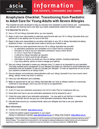 anaphylaxis research papers Student cohort wards 630 lecturer in nursing anaphylaxis anaphylaxis anaphylaxis is a severe life treatening allergic reaction it is the typical immediate.