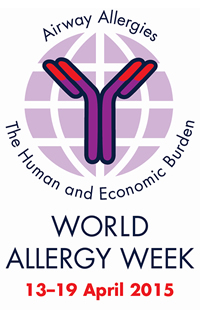 World Allergy Week, 13-19 April 2015