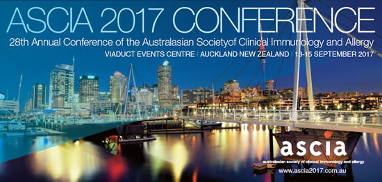 ASCIA 2017 Conference – save the dates
