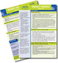 ASCIA Infant Feeding Advice