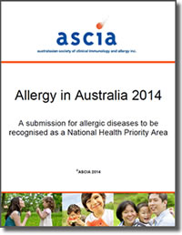ASCIA Allergy in Australia 2014