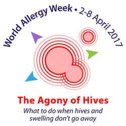 World Allergy Week 2017 The Agony of Hives